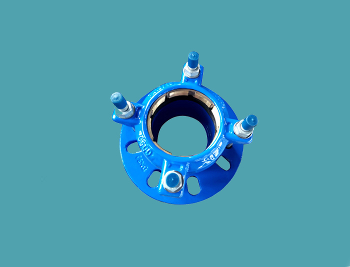 Restrained Flange Adaptor for PE Pipe Small Size