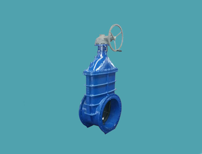 Gate Valve with Gearbox